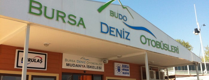 BUDO Mudanya İskelesi is one of Locais curtidos por Erkan.