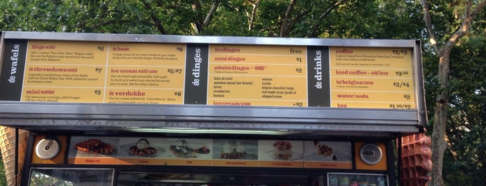 Wafels & Dinges Food Truck is one of New York.
