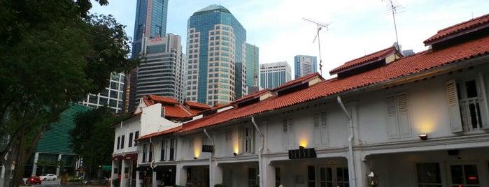 Cross Street is one of Singapore.