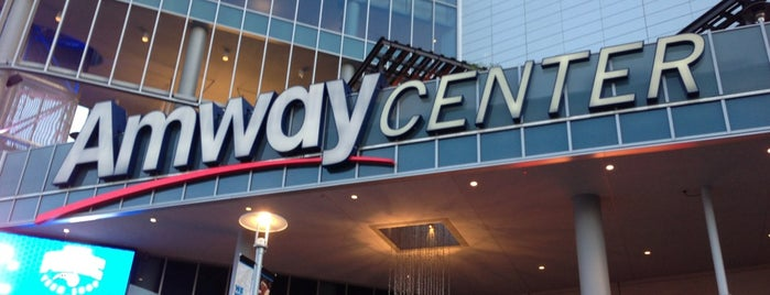 Amway Center is one of Tempat yang Disukai Andrii.