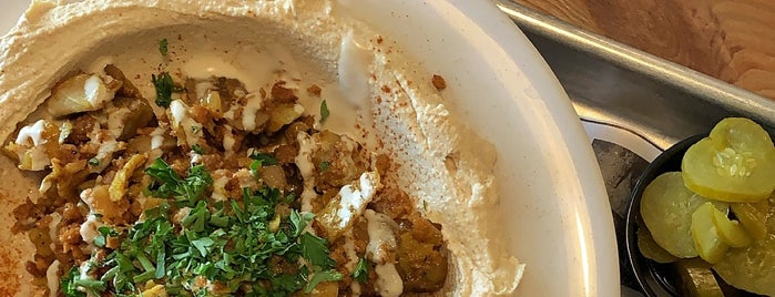 The Hummus House is one of Plant-based food MIA.