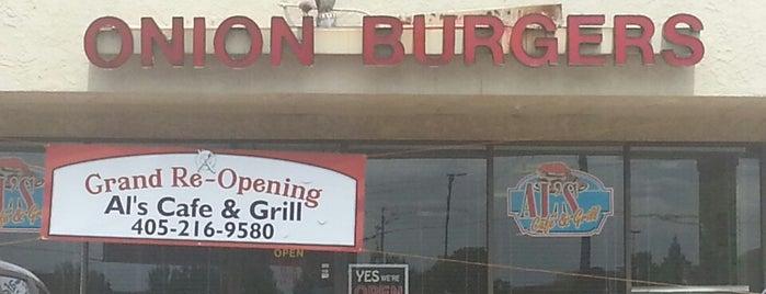 Al's Cafe & Grill is one of OKC/Edmond Lunch Spots.