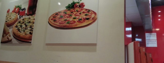 Domino's Pizza is one of Estive.