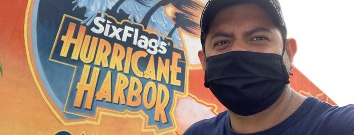 Six Flags Hurricane Harbor Oaxtepec is one of Tempat yang Disukai Nanndo.