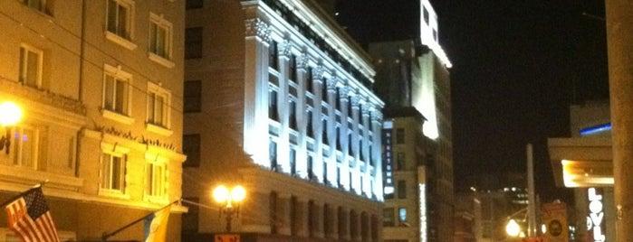 Grand Hyatt San Francisco is one of SF.