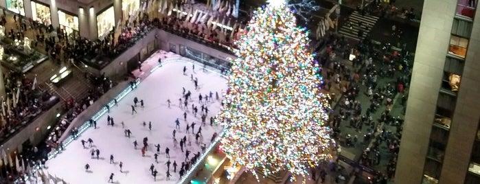 50 Rockefeller Plaza is one of NYC.