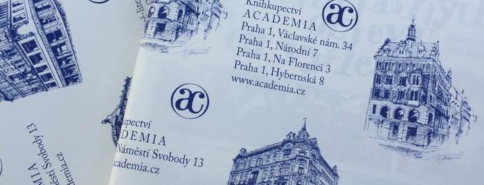 Knihkupectví Academia is one of Prague.