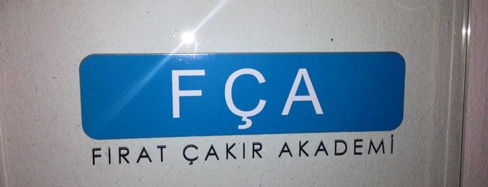 FCA Akademi is one of Yaprak 님이 저장한 장소.