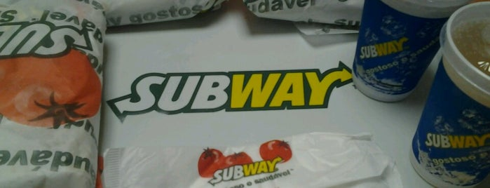 Subway is one of Locais curtidos por Tadeu.