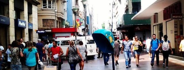 Rua dos Andradas is one of Porto Alegre.