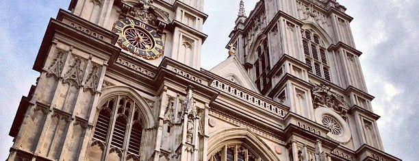 Westminster Abbey is one of London, Greater London UK.