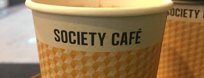 Society Cafe is one of Lugares favoritos de Lewin.