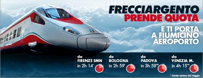 """Aeroporto di Roma Fiumicino """"Leonardo da Vinci"""" (FCO) is one of A Roma...con Le Frecce."""