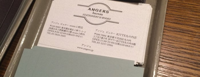 ANGERS bureau is one of 東京ココに行く! Vol.42.