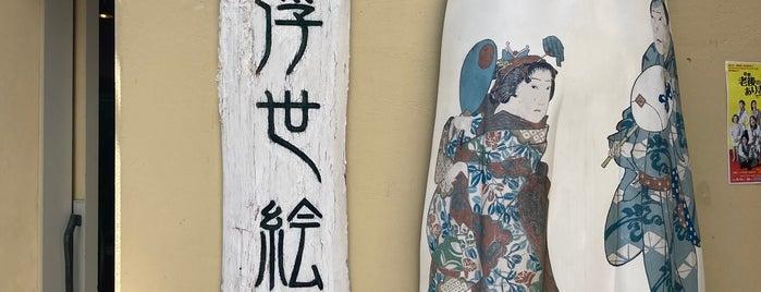 Kamigata Ukiyoe Museum is one of Osaka.