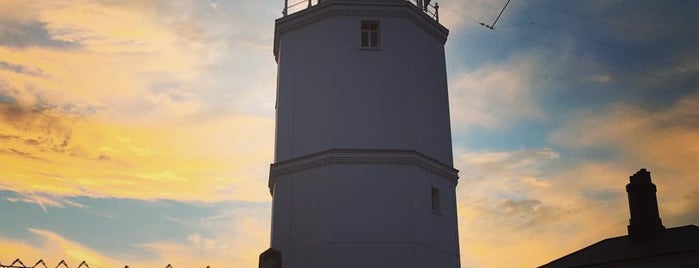 North Foreland Lighthouse is one of Tempat yang Disukai Ralph.