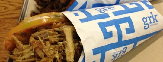 GRK Fresh Greek - Financial District is one of NYC Lunch Work Day.