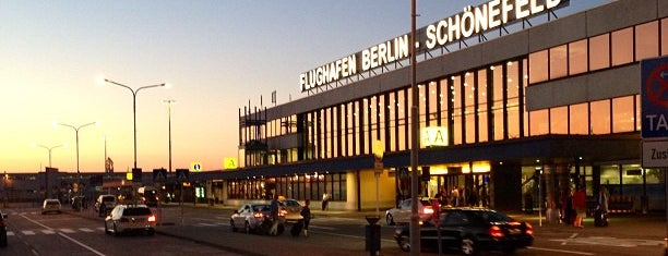 Berlin-Schönefeld Airport (SXF) is one of Berlin!.