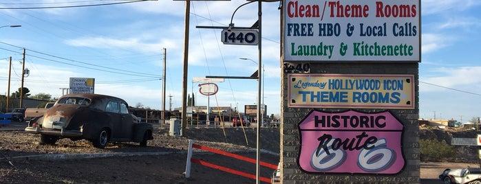El Trovatore Motel is one of Route 66 Roadtrip.