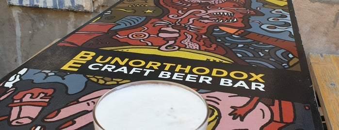 Be Unorthodox Craft Beer Bar is one of Bratislava.