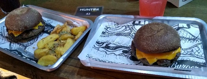 Hunter We Burger is one of Burgers.