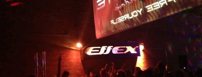 Effex Night Club is one of Brian's Saved Places.