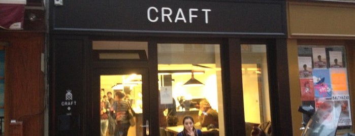 Craft is one of Mes brunchs favoris à Paris.