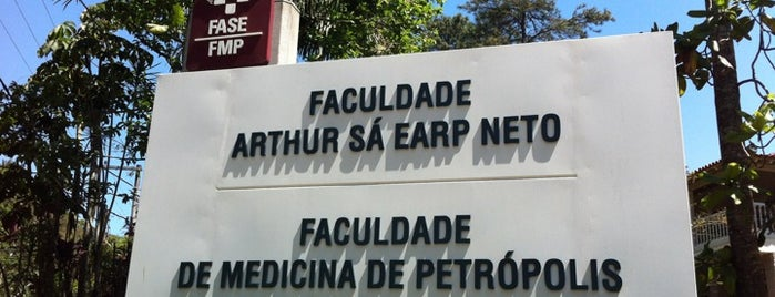 Faculdade Arthur Sá Earp Neto (FMP - FASE) is one of Letisさんの保存済みスポット.