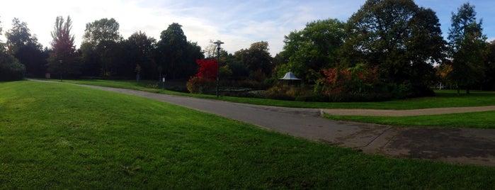 Prinz-Emil-Garten is one of Darmstadt - must visit.