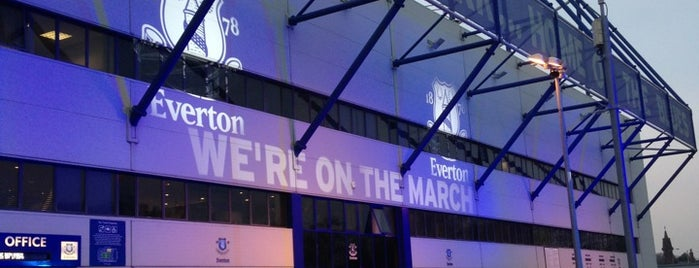 Goodison Park is one of Stadiums.