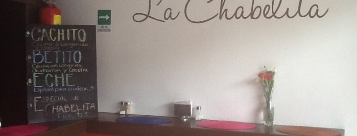 La Chabelita is one of National.