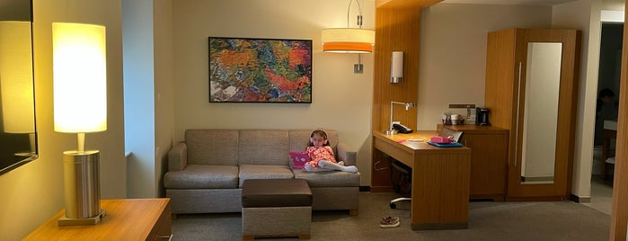 Hyatt Place Knoxville / Downtown is one of Posti che sono piaciuti a Marjorie.