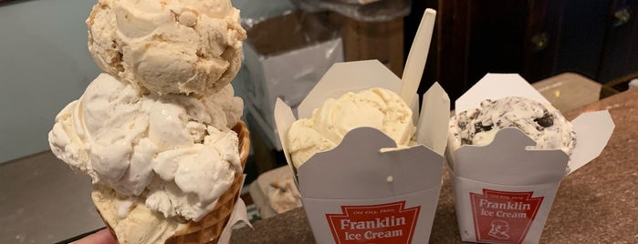 Franklin Ice Cream Bar is one of Philly.
