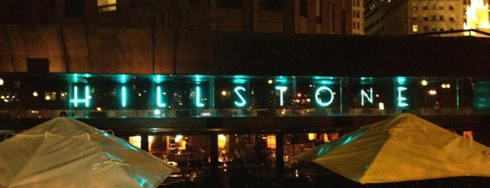 Hillstone Restaurant is one of Tempat yang Disukai Carl.