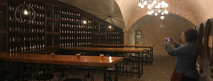 Goose Island Barrel Aging Warehouse is one of To Tip.