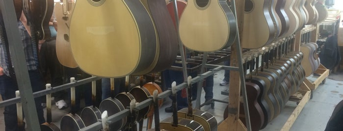 Collings Guitars is one of Austin to-do.