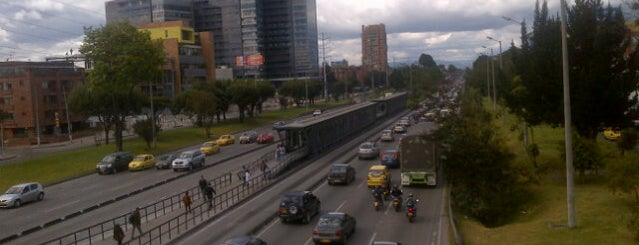 TransMilenio: Calle 106 is one of Tempat yang Disimpan Thaly.