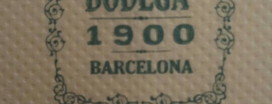 Bodega 1900 is one of Barcelona voltants pendent.