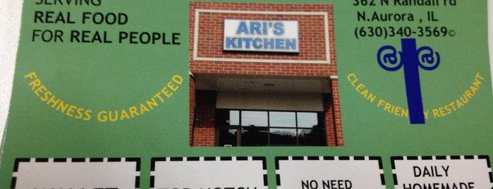 Ari's Kitchen is one of Lieux qui ont plu à Brian.