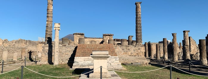 Tempio di Apollo is one of Pompei.