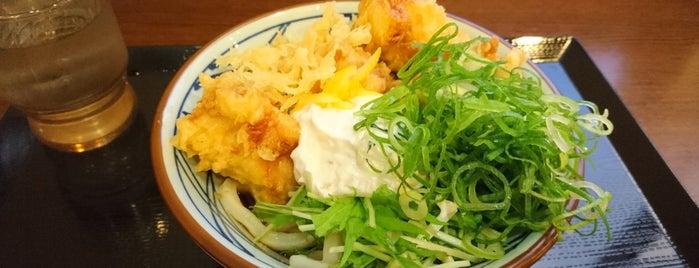 丸亀製麺 邑久店 is one of うどん 行きたい.