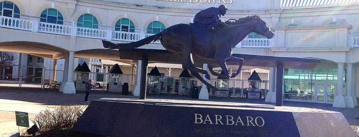 Churchill Downs is one of Visiting Louisville.