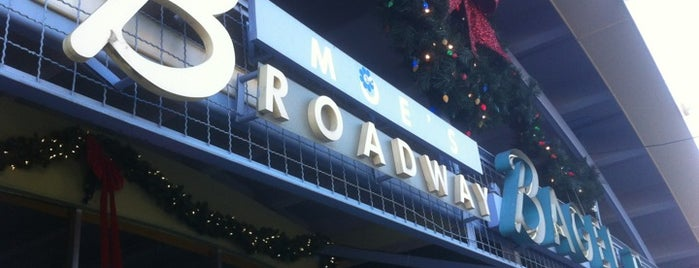 Moe's Broadway Bagels is one of Top Picks for Restaurants/Food/Drink Spots.