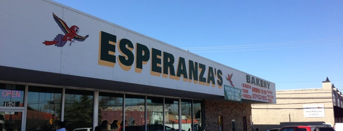 Esperanza's Restaurant & Bakery is one of FW Magazine 30 Best Breakfast Places.