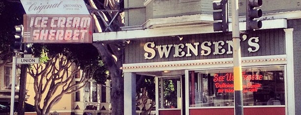 Swensen's Ice Cream is one of [To-do] San Francisco.