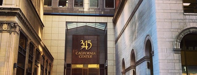 345 California Center is one of San Francisco Bay.
