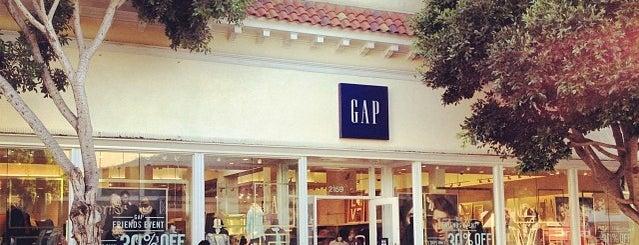 GAP is one of Orte, die Michael gefallen.