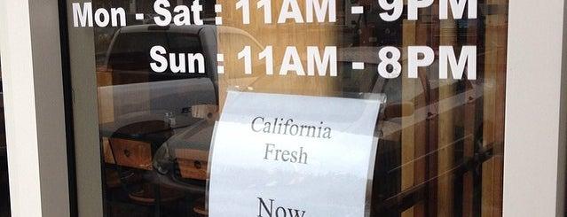 California Fresh is one of Lieux sauvegardés par Jess.