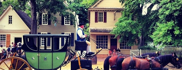 Colonial Williamsburg is one of 101 Places to Take Your Family in the U.S..