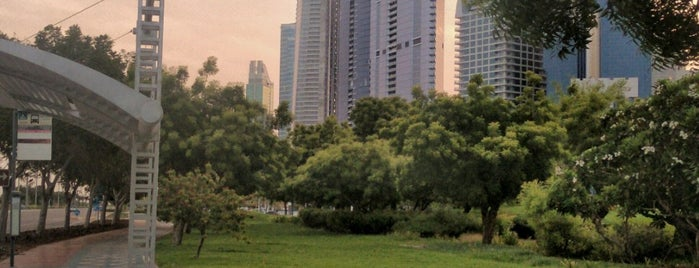 Abu Dhabi City Corniche Park is one of Abu Dhabi & Dubai, United Arab emirates.